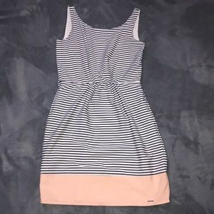 U.S. Polo Striped Dress With Pockets